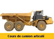 Formation Camion articulé